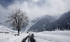 First Snowfall in Kashmir, Delight For Winter Tourist