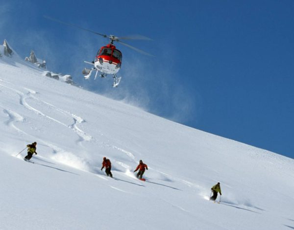 Heli Skiing in Jammu and Kashmir