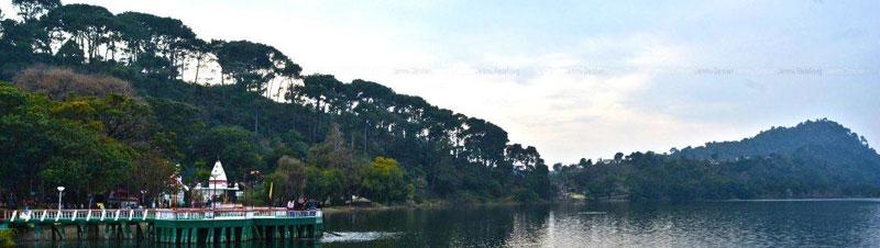 Mansar Lake Sheshnag Temple