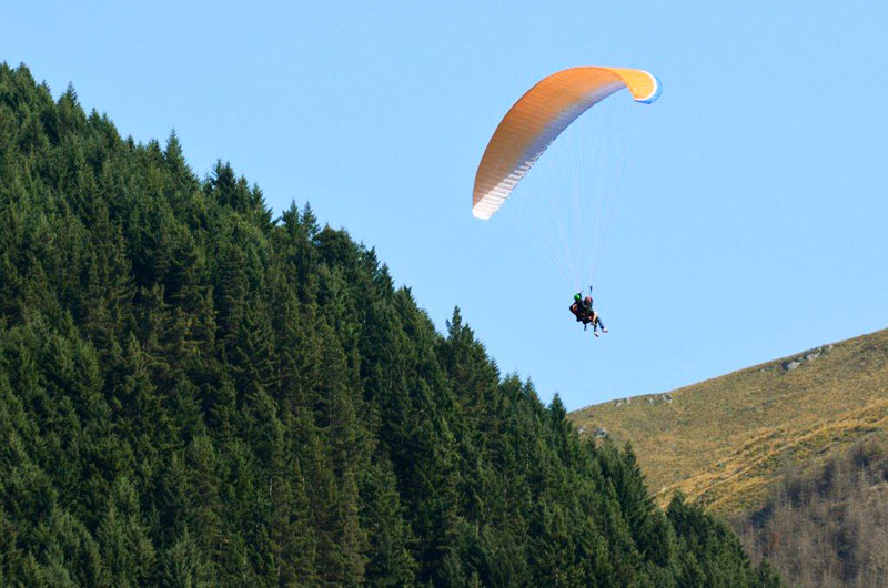 Paragliding-in-Queenstown