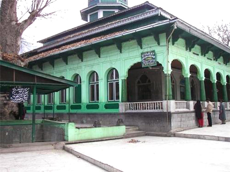 Tomb of Baba Hyder Reshi Kashmir