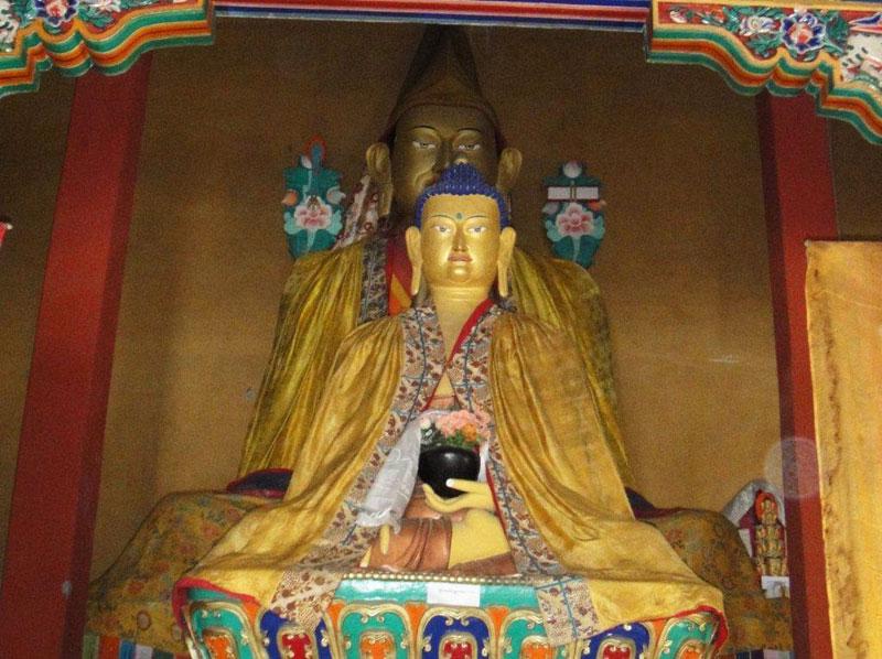 Buddha-Statue Stongdey-Gompa