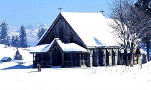 ST. MARY'S CHURCH- GULMARG