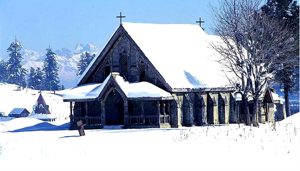 church g - Gulmarg Travels: Things to do and Places to Visit