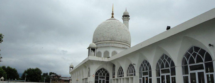 Hazratbal Mosque Srinagar
