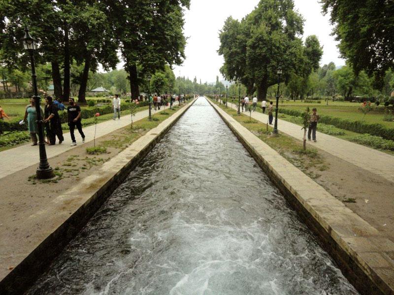 Mughal Garden Water-Canal Verinag Anantnag