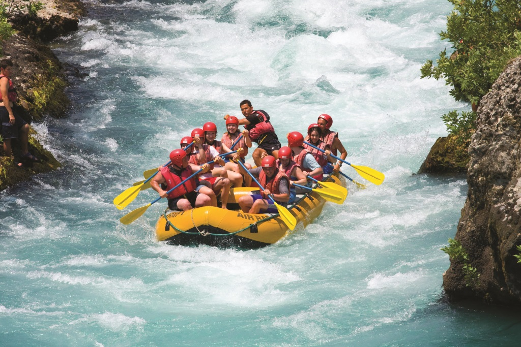 Things To Do In Kashmir, River Rafting
