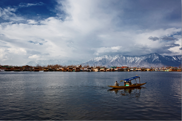Srinagar Honeymooners Destination