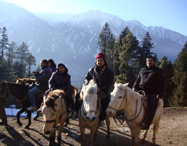 Kashmir's Snowy Welcome Filled Our Vacation with Pleasure